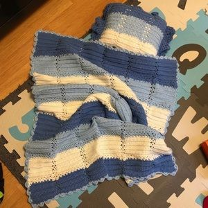Other - handmade blanket and pillow
